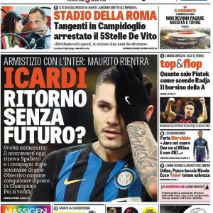 "Interfans.org on Instagram: ""‪Edicola #Inter con focus su #Icardi ‬"""