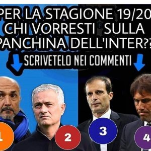"Interfans.org on Instagram: ""#Inter chi vorresti come allenatore neroazzurro? #spalletti #mourinho #allegri #conte"""