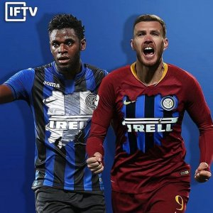 "Interfans.org on Instagram: ""E se....#Zapata #Dzeko"""